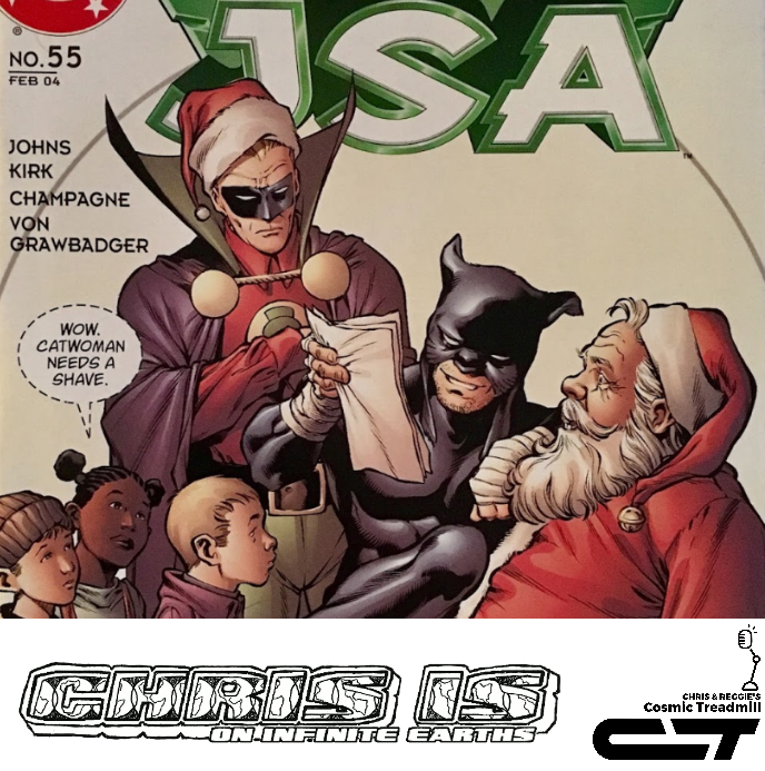 Chris is on Infinite Earths, Episode 7: JSA #55 (2004)