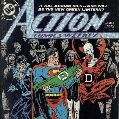 Cosmic Treadmill ep 117 - Action Comics Weekly: Green Lantern Part Four (1989)