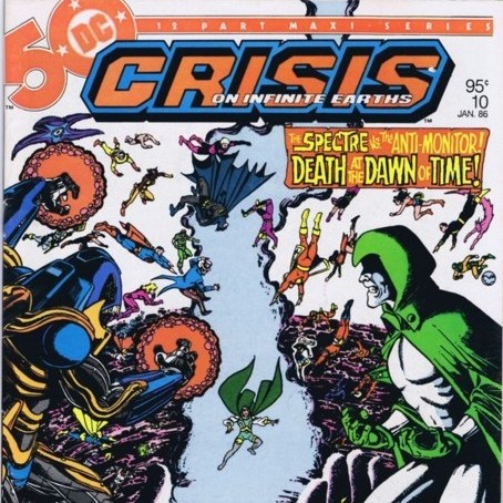 Cosmic Treadmill ep. 53 - Crisis on Infinite Earths Part Four! (1986)