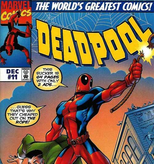 Cosmic Treadmill ep. 49 - Deadpool #11 (1997)