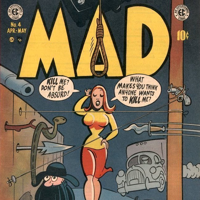 Cosmic Treadmill ep. 118 - MAD #4 (1953)