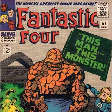 Cosmic Treadmill ep. 73 - Fantastic Four #51 (1966)