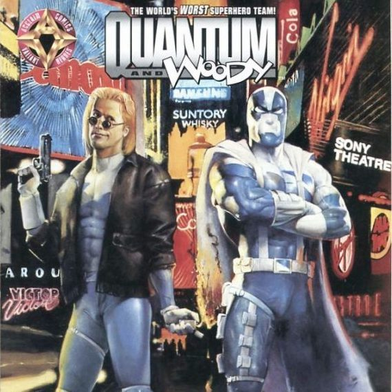 Cosmic Treadmill ep. 86 - Quantum and Woody #1 & #2 (1997)