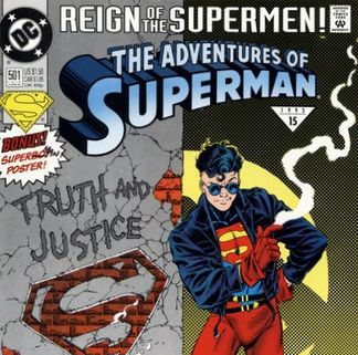 Cosmic Treadmill ep. 65 - The Death of Superman, Part 3: Reign of the Supermen (1993)