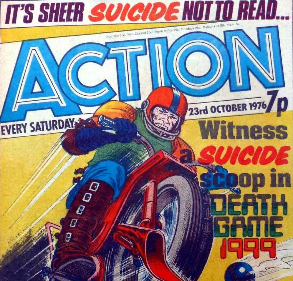 Cosmic Treadmill ep. 138 - Action #37 (1976)