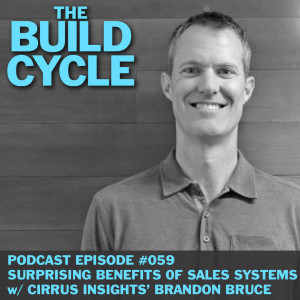 Ep #059 - Surprising benefits of Sales Systems w/ Cirrus Insight's Brandon Bruce