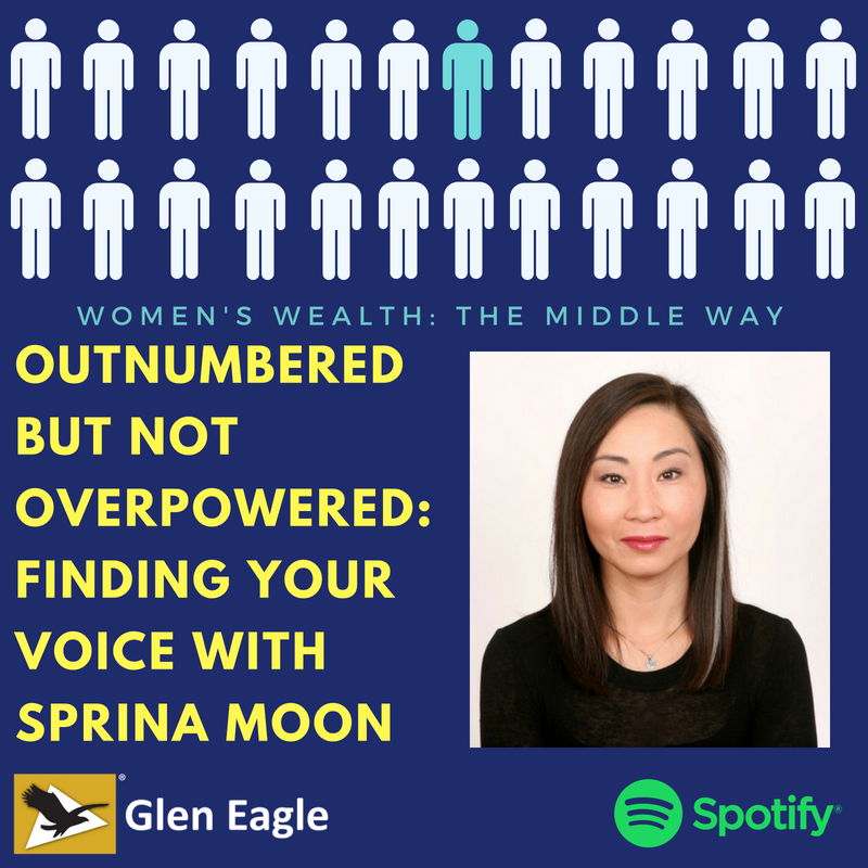 Outnumbered but not Overpowered: Finding your Voice with Sprina Moon