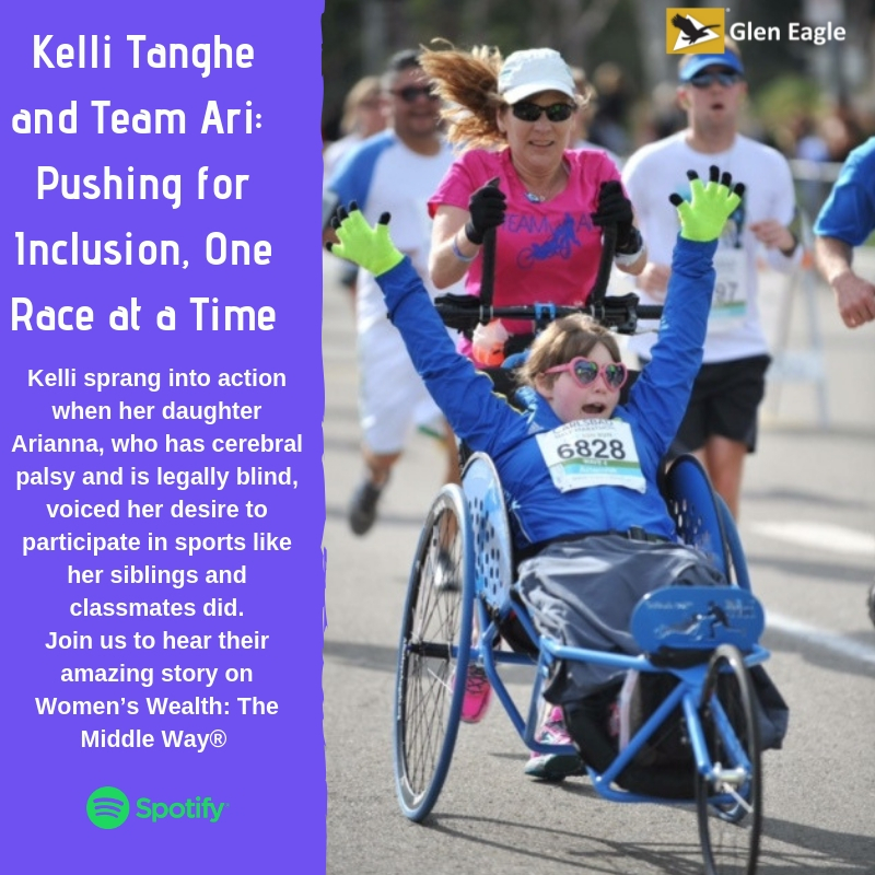 Kelli Tanghe and Team Ari: Pushing for Inclusion, One Race at a Time