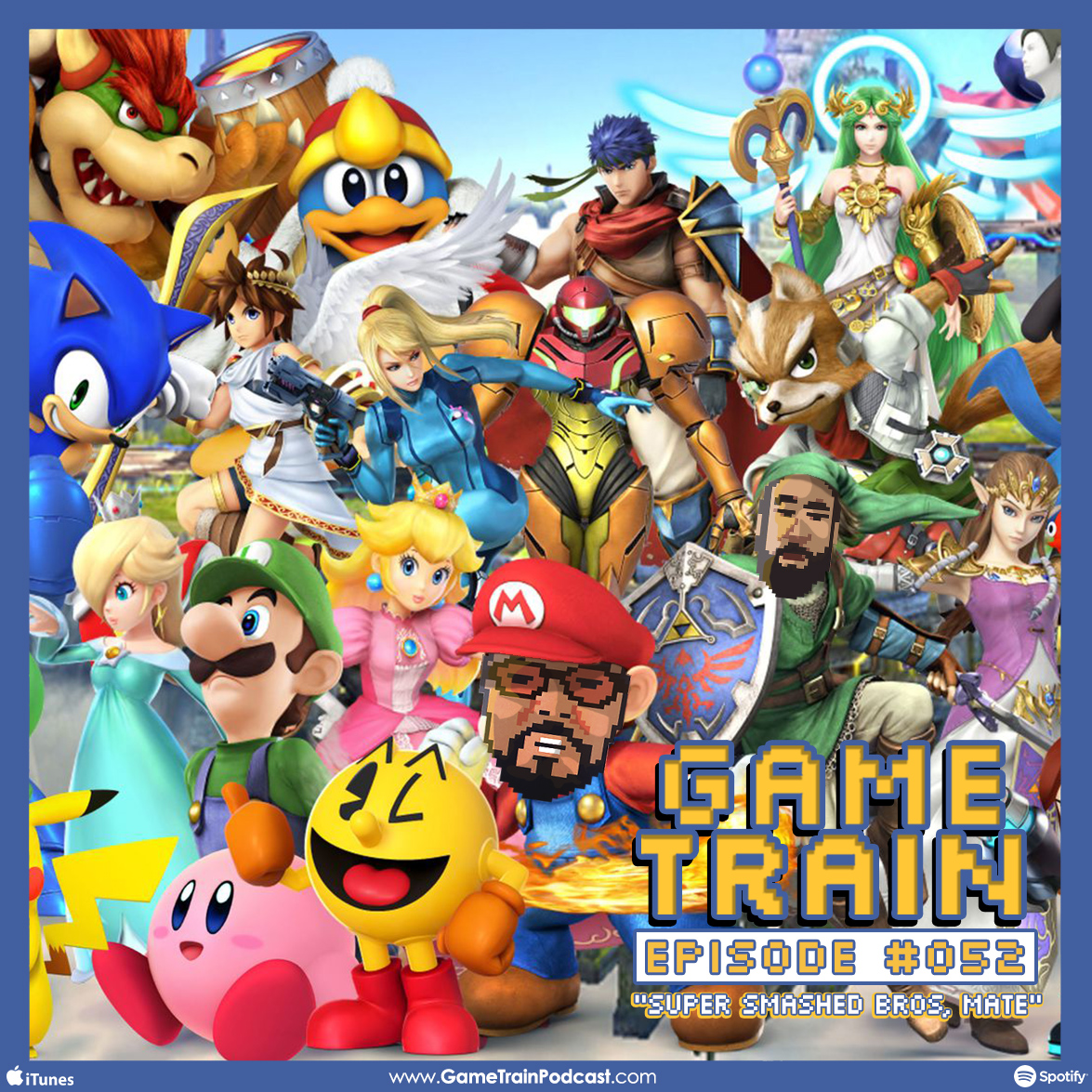 "Game Train - Episode #052 ""Super Smashed Bros, Mate"""