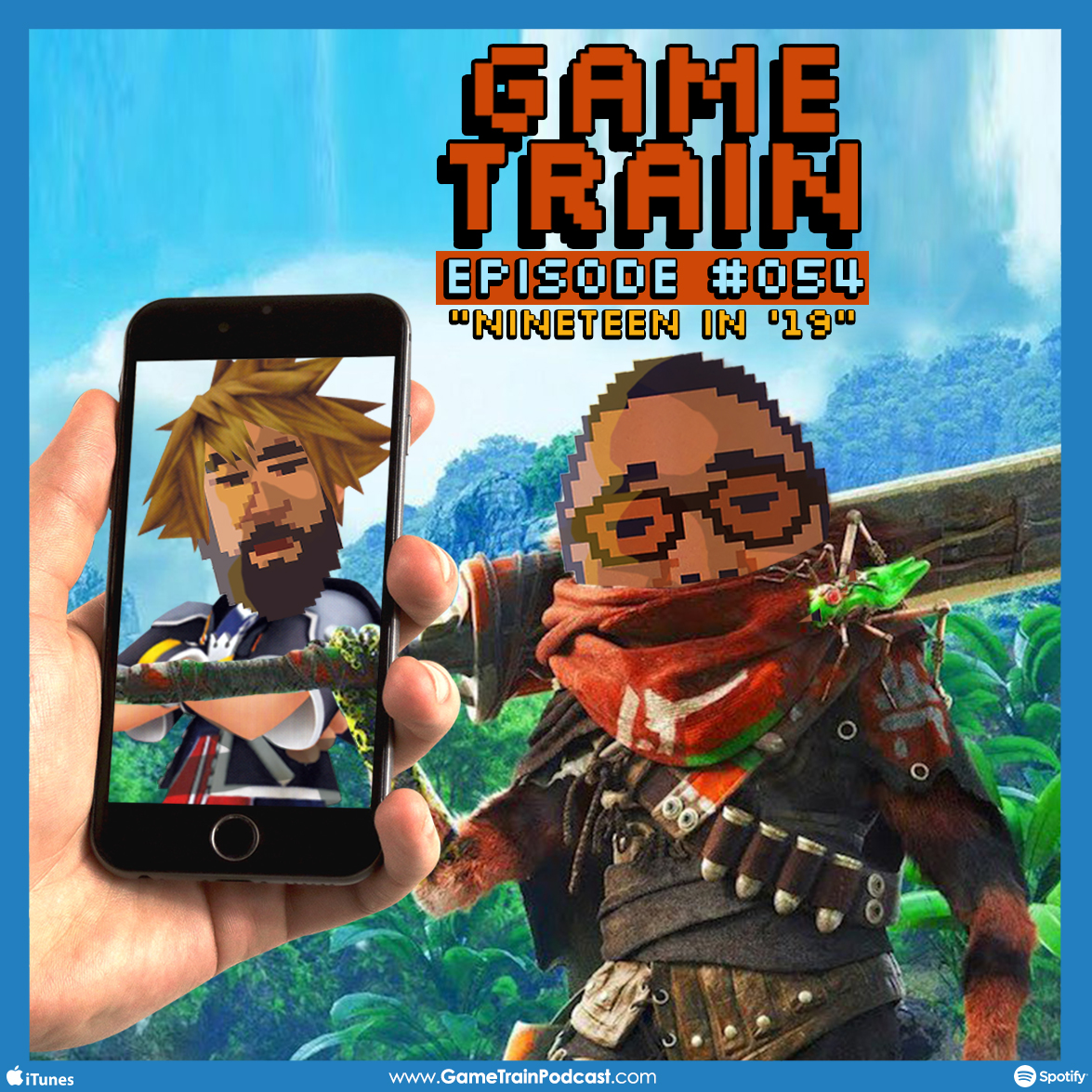 "Game Train - Episode #054 ""Nineteen in '19″"