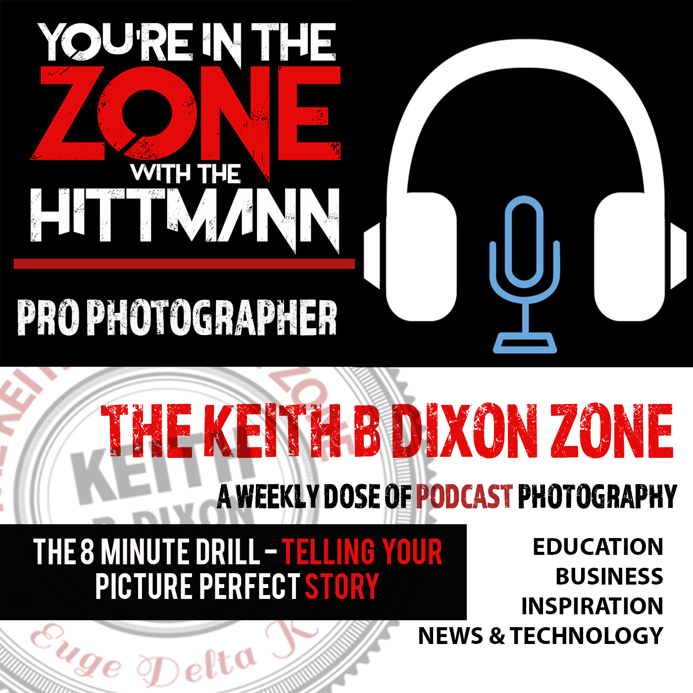 EP #11- The 8 Minute Photography Drill- Telling your picture perfect story