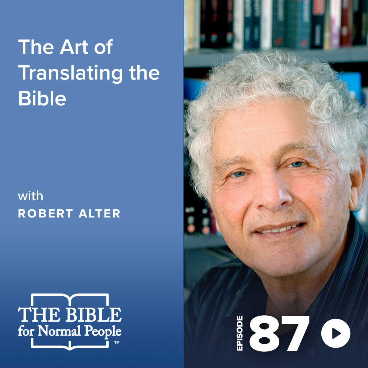 Episode 87: Robert Alter - The Art of Translating the Bible