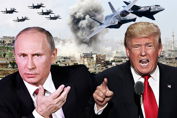 Did the US come dangerously close to war with Russia today? VP Mike Pence abruptly cancels trip...Or was it just a coincidence?