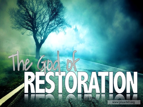 Question: Can God Restore Your Life?