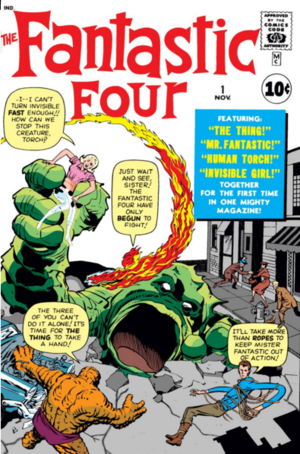 Classic Comics Forum Podcast #18: Fantastic Four #1