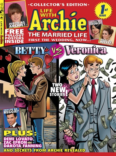 Classic Comics Forum Podcast #1: Life with Archie: The Married Life part 1