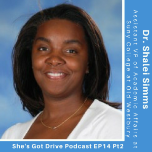 Episode 15: Dr Shalei Simms shares the source of her success [Part 2]