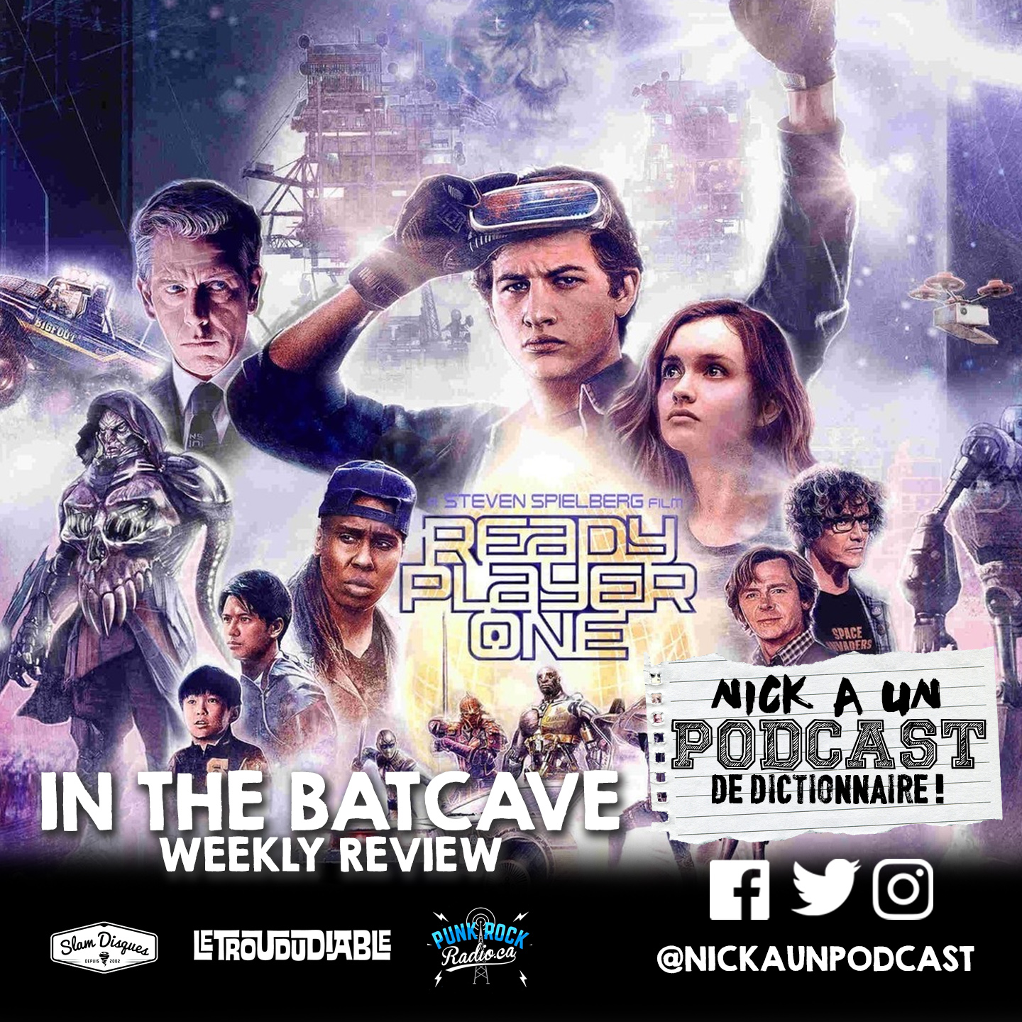 42 - READY PLAYER ONE REVIEW, 77′ MONTREAL, HEAVY MTL, OSHEAGA, THE LX