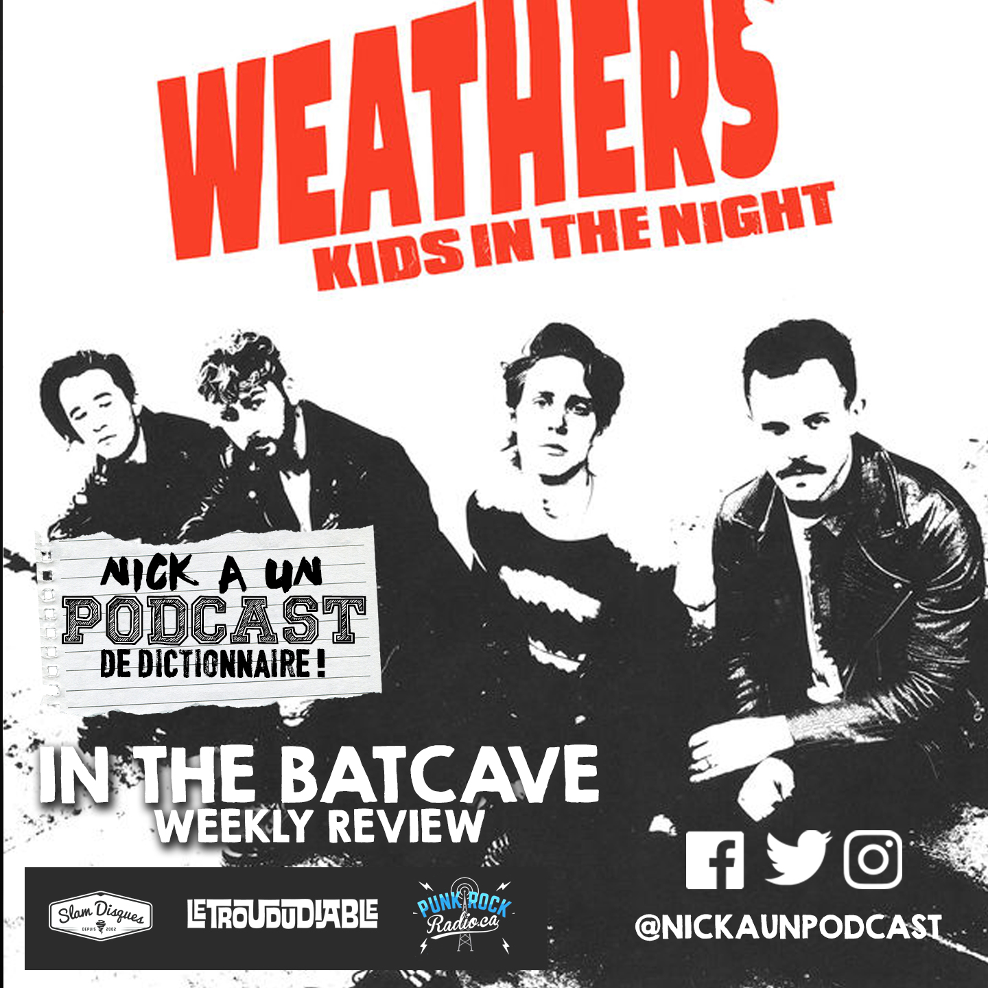 """40 - WEATHERS """"KIDS IN THE NIGHT"""" ALBUM REVIEW"""