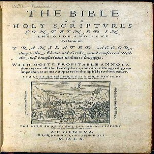 How We Got the Bible: Reformation to King James