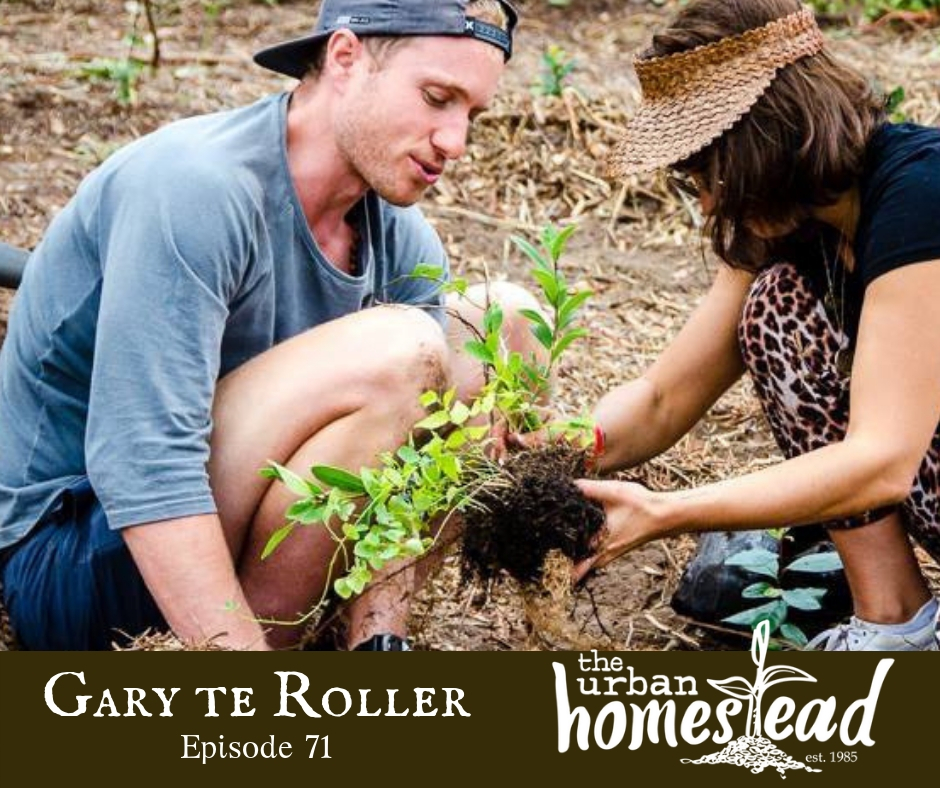 Urban Homestead Radio Episode 71: Gary teRoller Plant-based Health Coach Interview