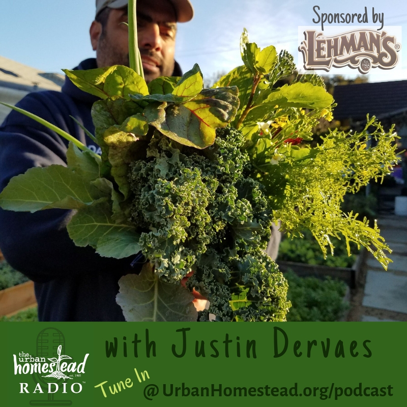 "Urban Homestead Radio Episode 75: ""How Does Our Garden Grow?"" with Justin Dervaes"