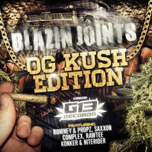Archives - 130 - Blazin Joints (OG Kush Edition) Mixed by Maco42 (2016)