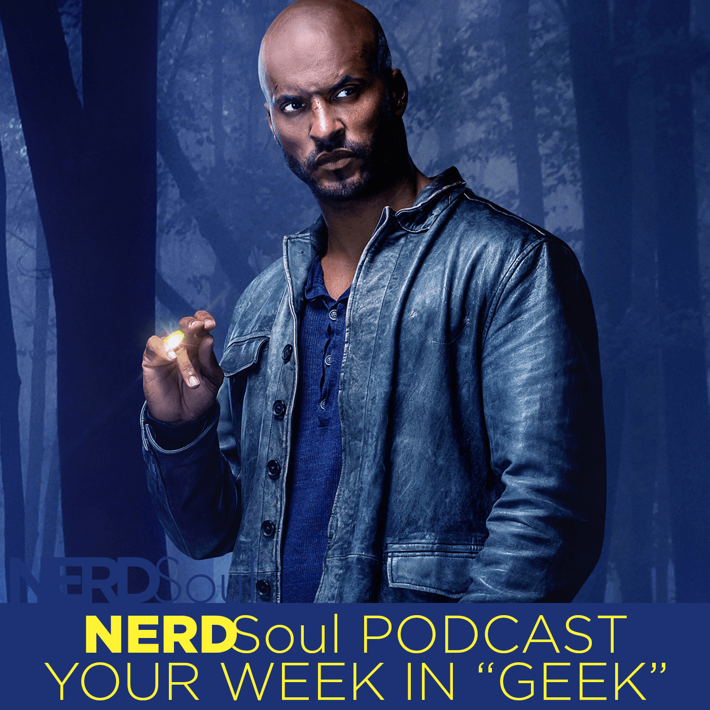 Starz American Gods' Shadow Moon Is At A Crossroads w/ The Gods! A Chat With Solar Greye   NERDSoul