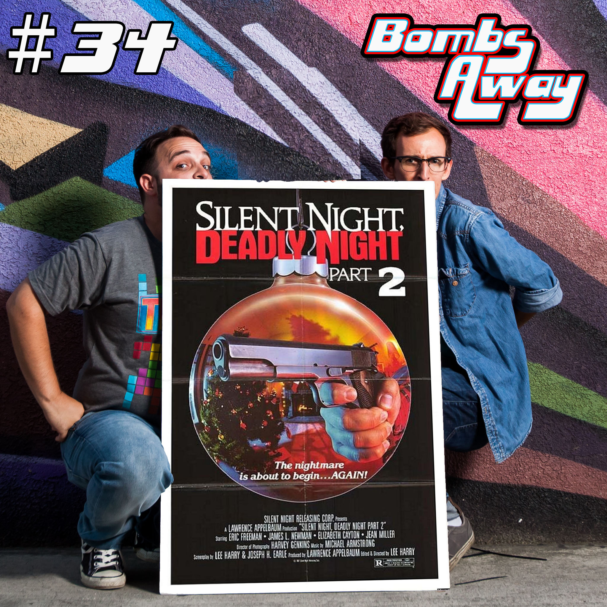 Christmas 2017: Episode 34 - Silent Night Deadly Night Part 2 (1987) [w/ Andrew & Paxton]