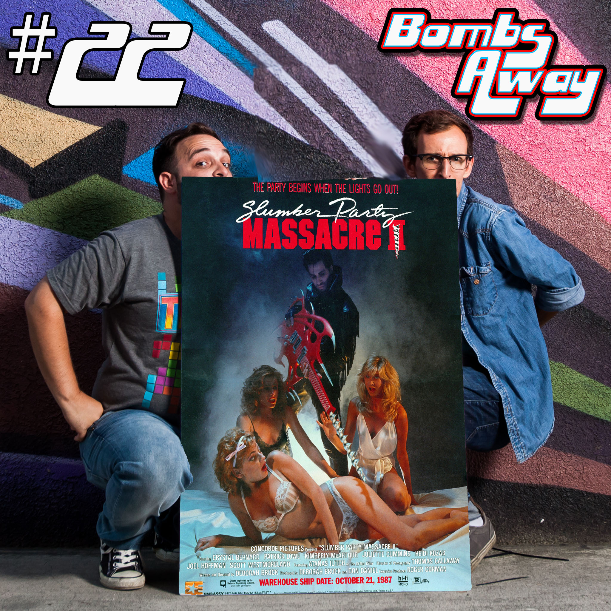 Episode 22 - Slumber Party Massacre II (1987) [w/ Abbie Bauer]