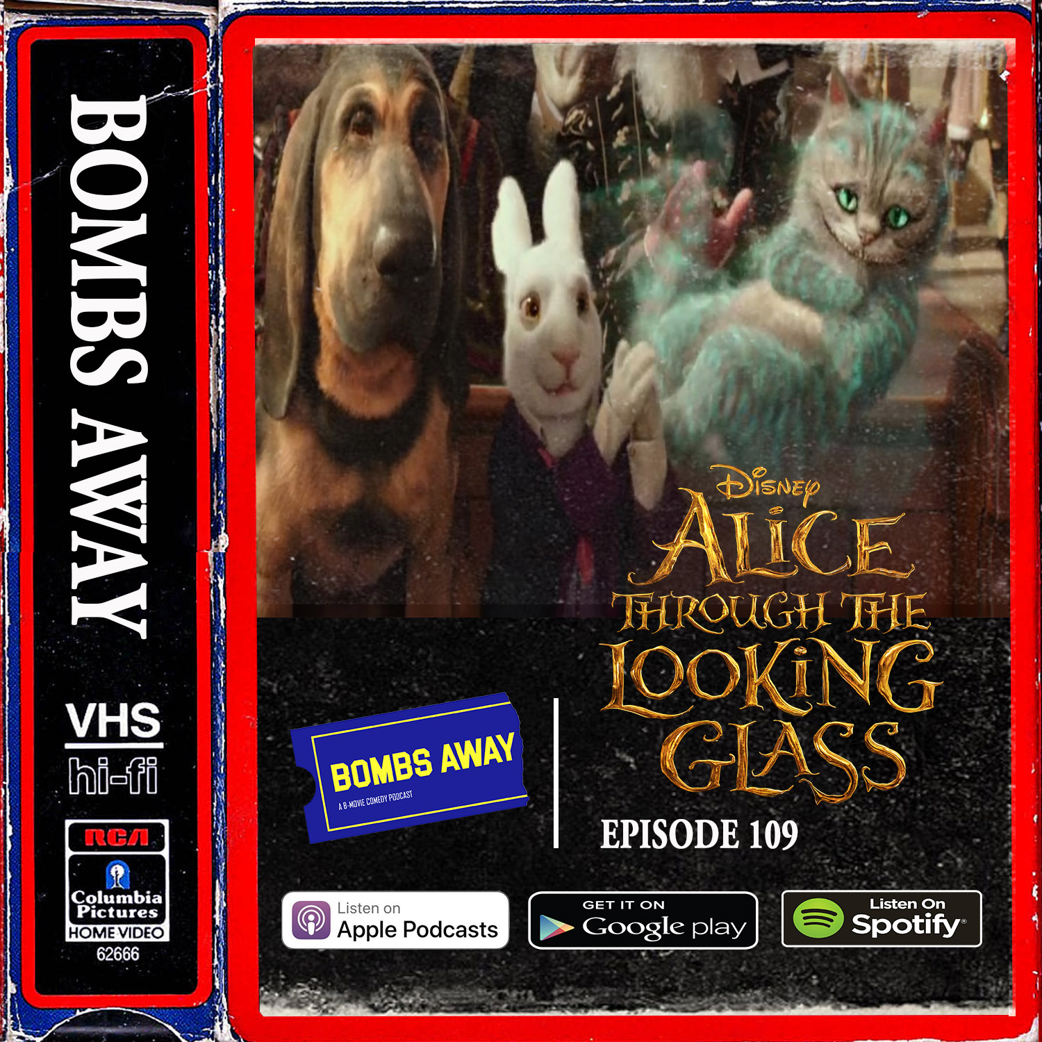 Episode 109 - Alice Through the Looking Glass (2016)