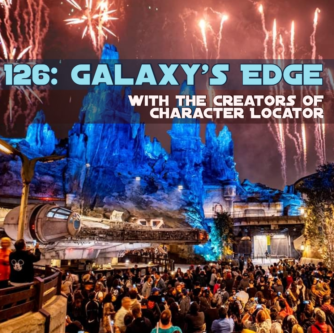 Galaxy's Edge Grand Opening with Character Locator