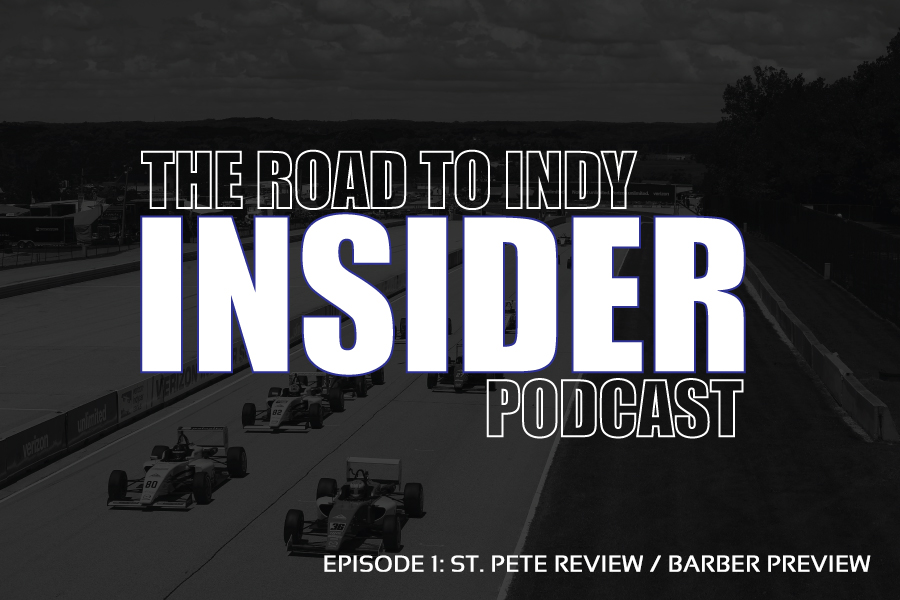 Road To Indy Insider Podcast - EP.1 - St. Pete Review / Barber Preview