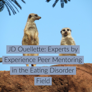 JD Ouellette: Experts by Experience Peer Mentoring in the Eating Disorder Field