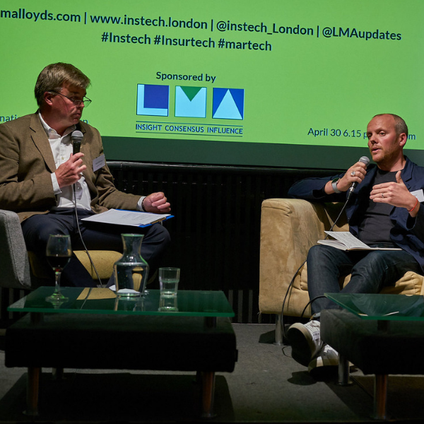 InsTech London Podcast 26. Marketing Innovation in Insurance Part One. Inshur, Gobsmack, AM Best, Ninety Consulting and AXA.