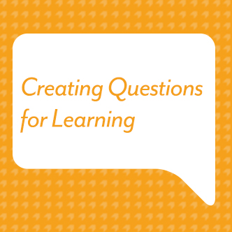 Creating Questions for Learning