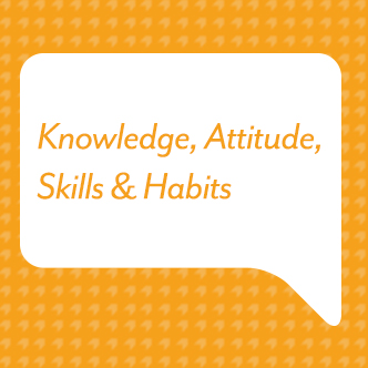Knowledge, Attitude, Skills & Habits