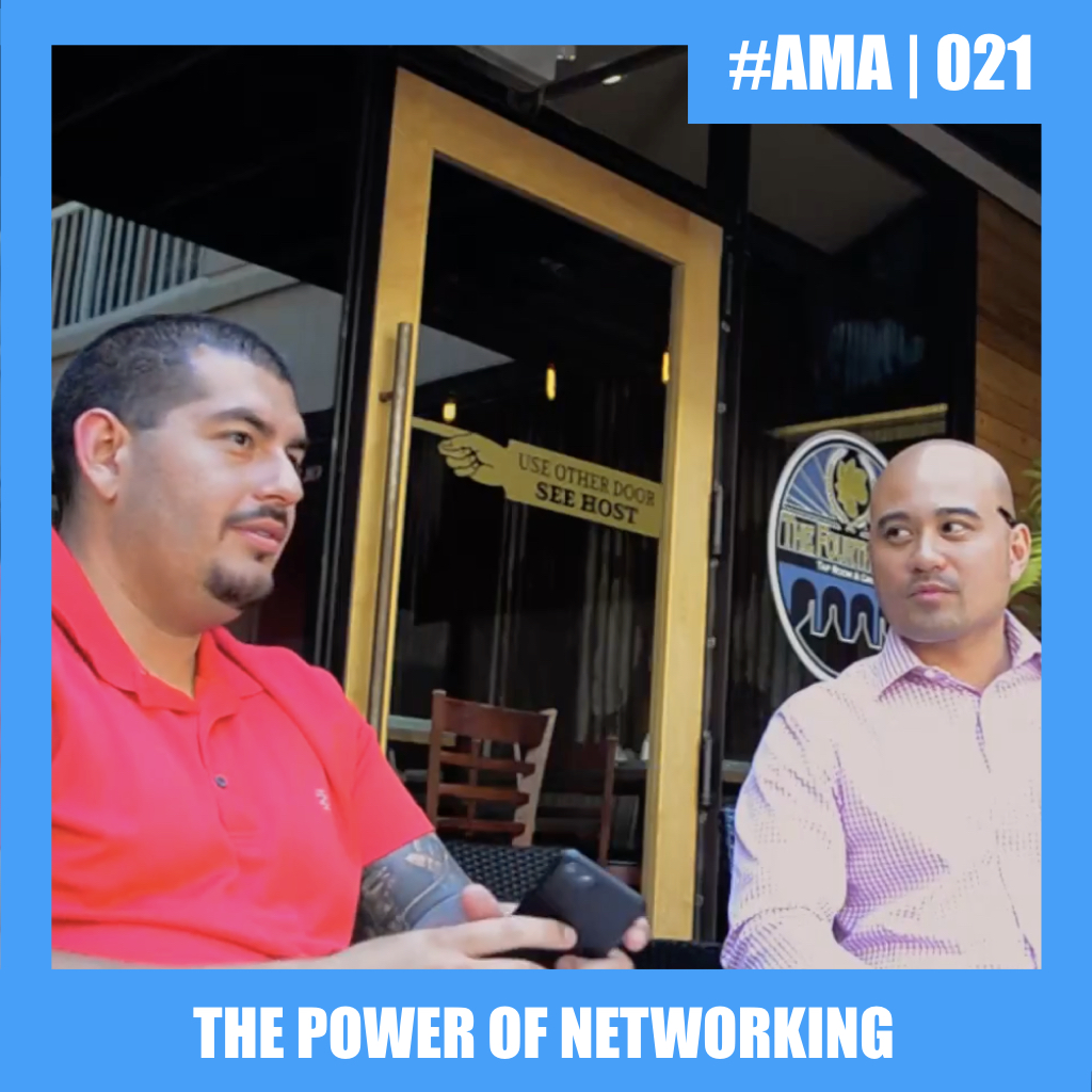 #AMA | Power of Networking