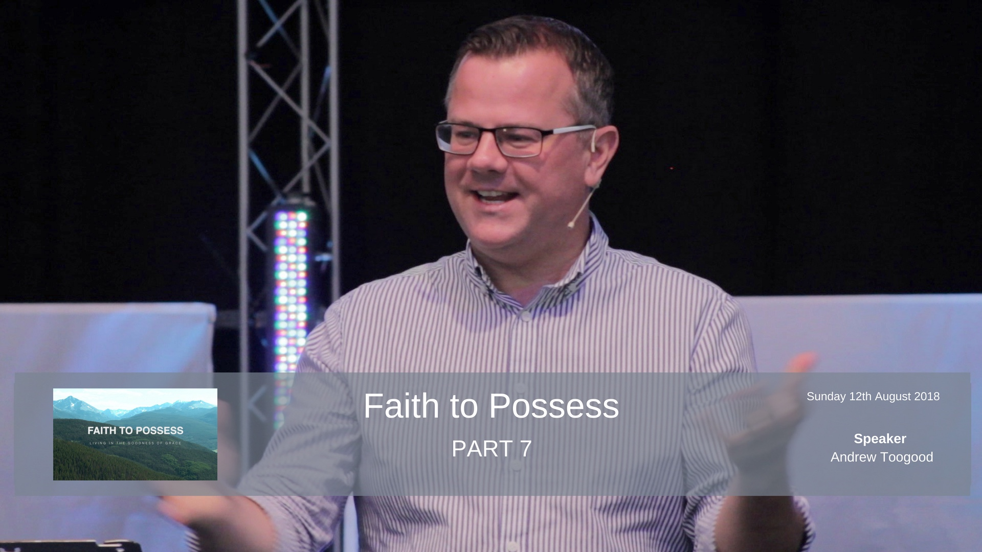 Faith to Possess - Part 7 - Does God count your doubt against you?