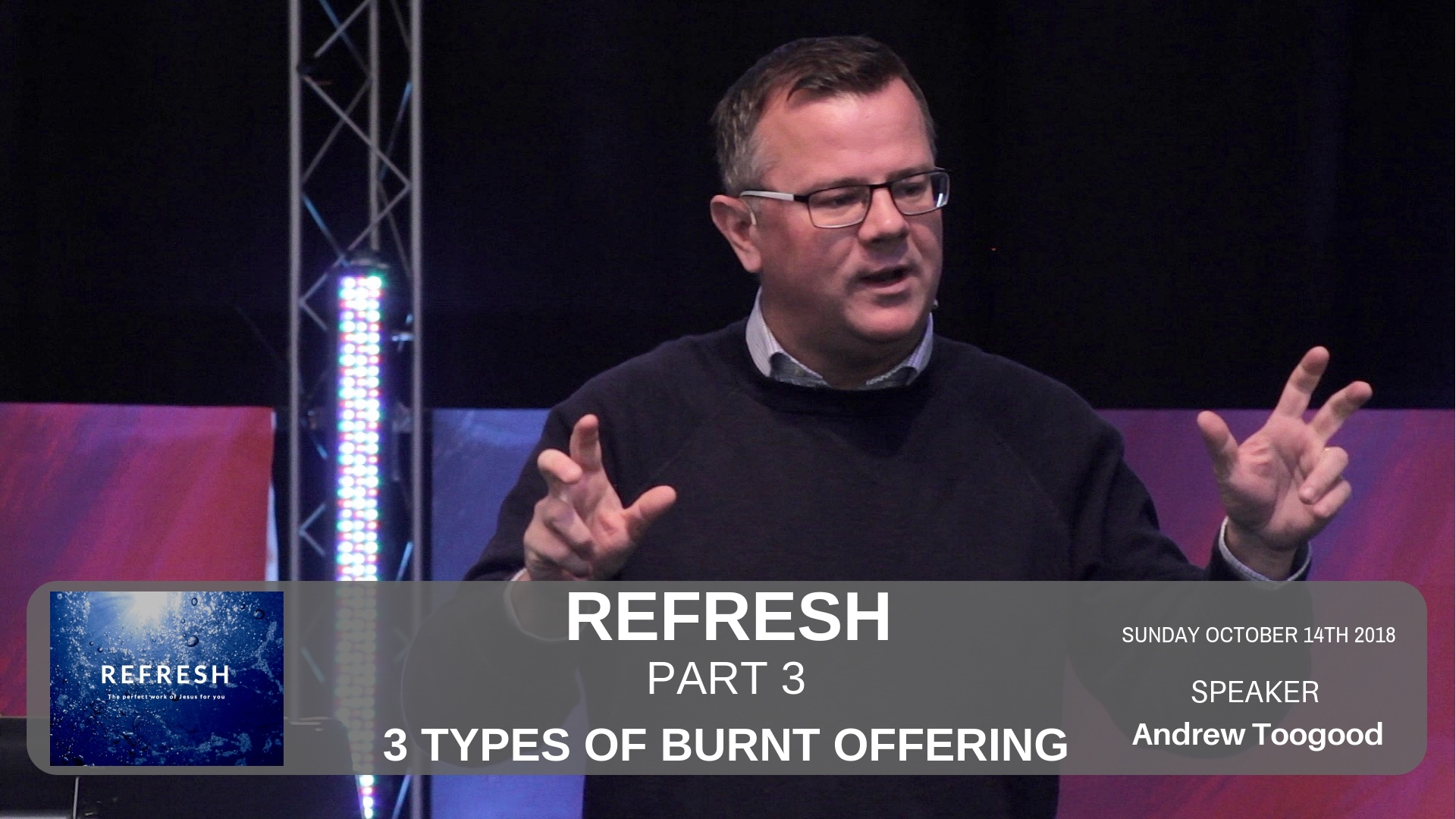 Refresh - Week 3 - 3 Types of burnt offerings