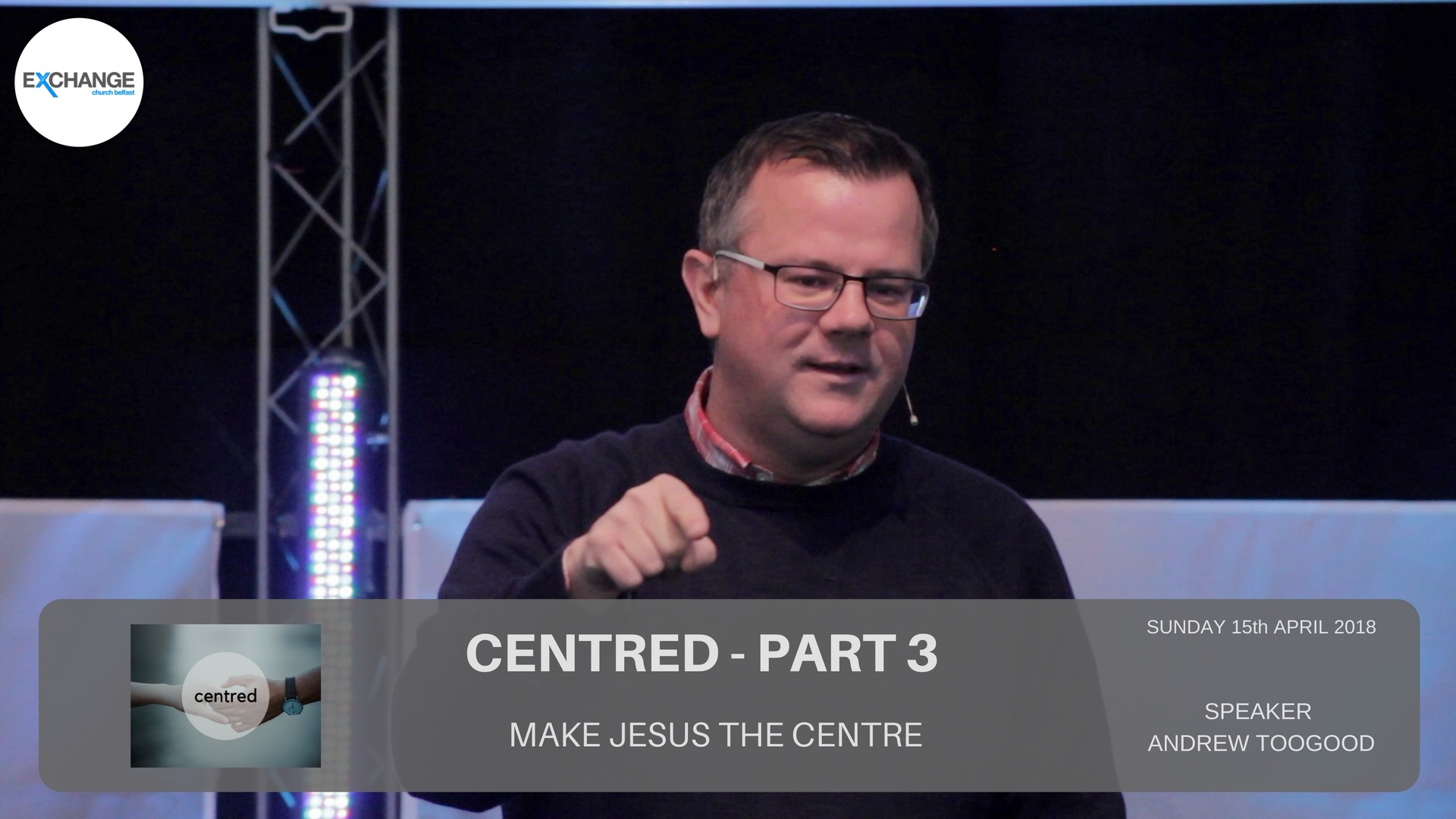 Centred - Part 3 - Make Jesus the Centre