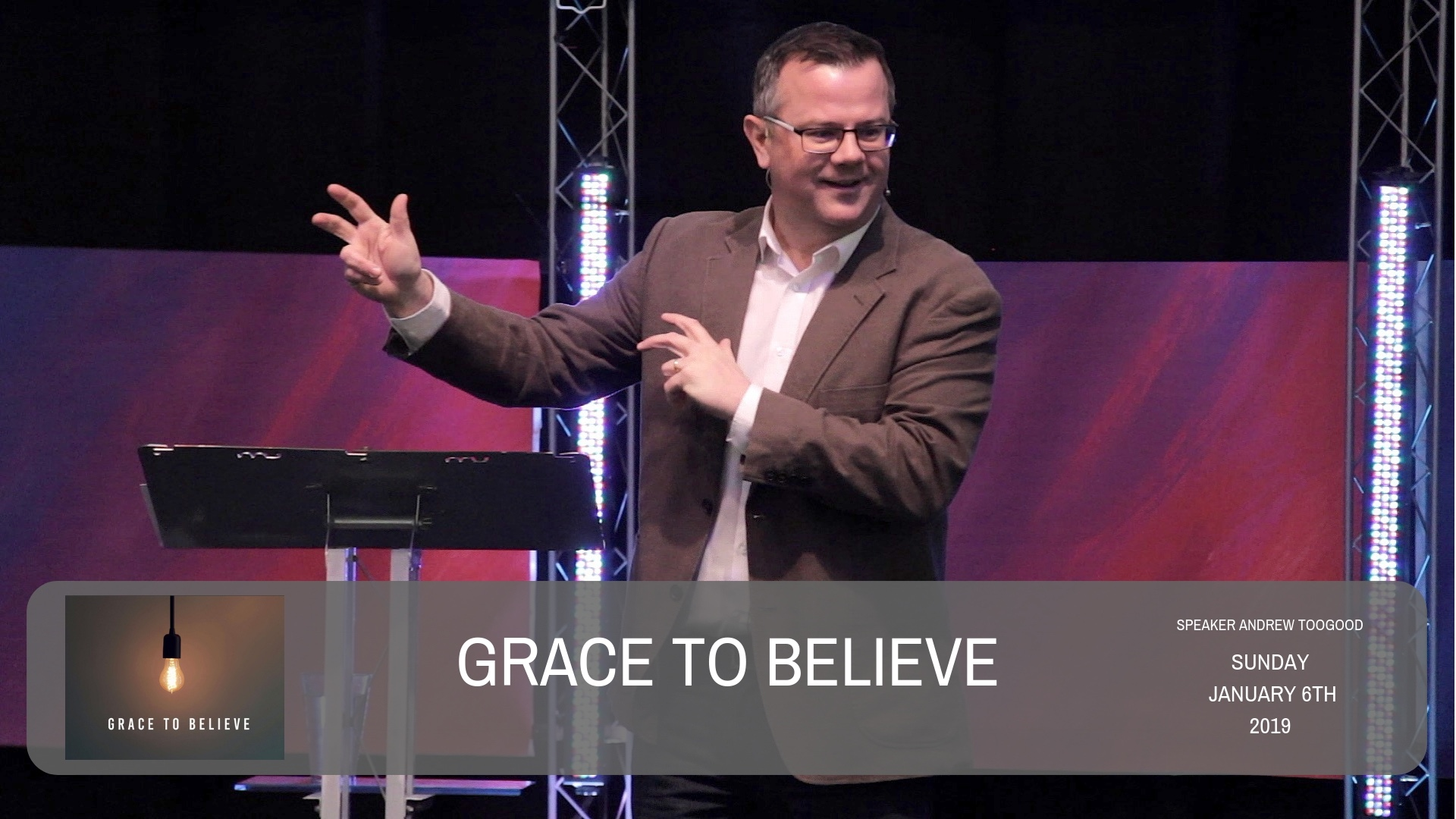 Grace to believe