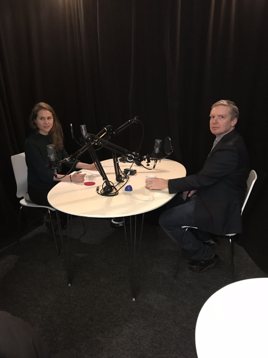 3. Signe Åkerblom in conversation with Mark Howells, prof. in Energy System Analysis at the Royal institute of Technology in Stockholm