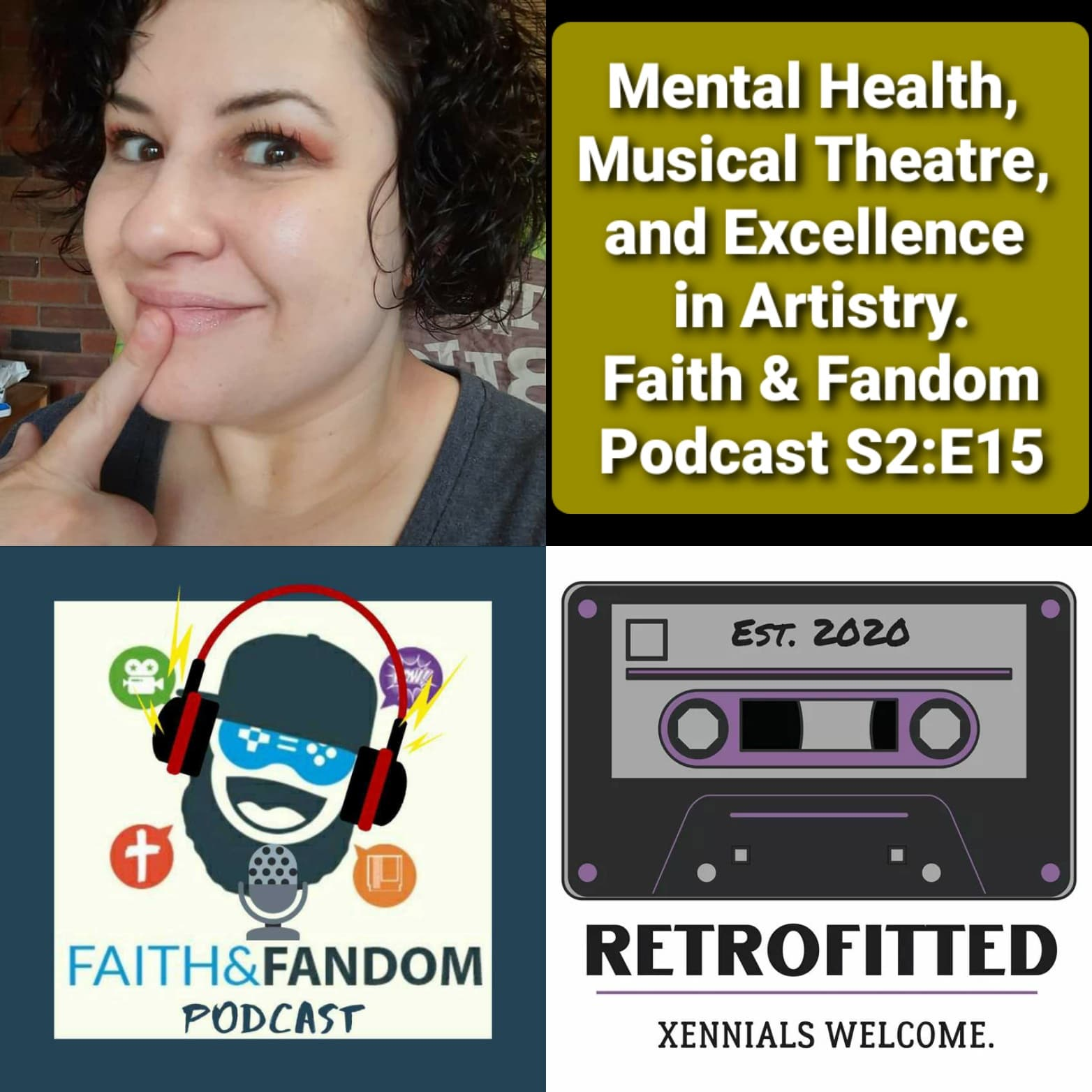 Mental Health, Musical Theatre, & Excellence in Artistry. Faith & Fandom Podcast S2:E15