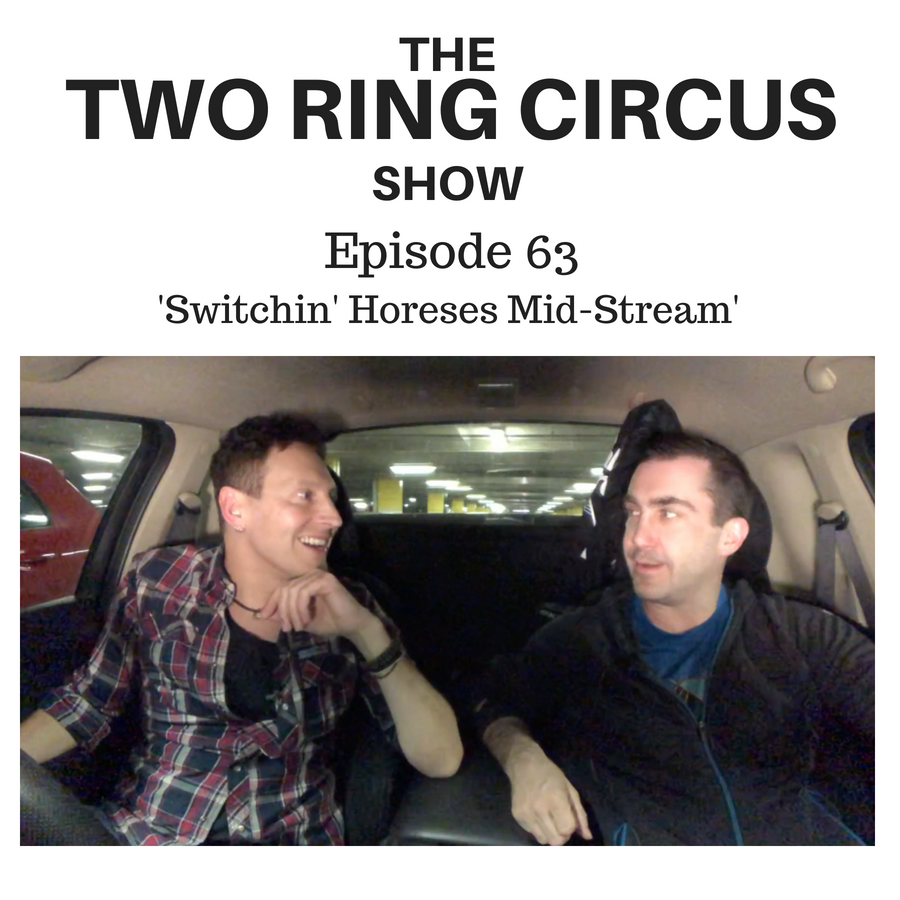 The TRC Show - Episode 063 - 'Switchin' Horses Mid-Stream OR The Least Neurotic Jew'