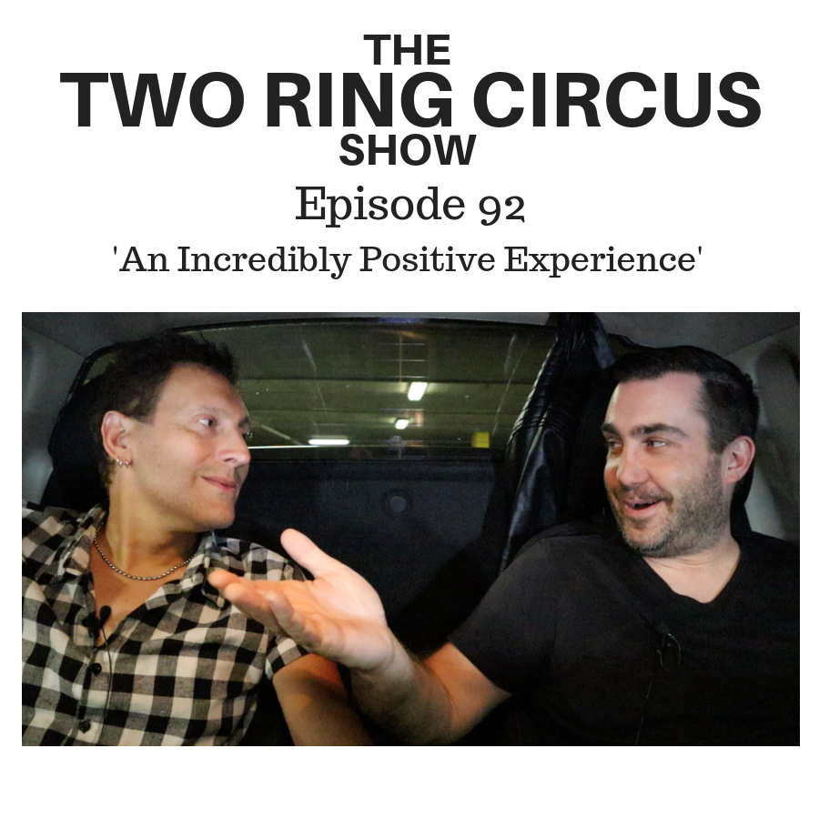 The TRC Show - Episode 092 - 'An Incredibly Positive Experience OR 'Cos I Wanted To'