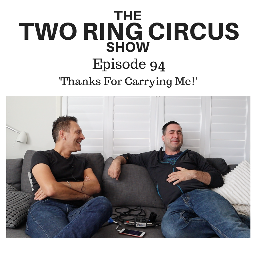 The TRC Show - Episode 094 - 'Thanks For Carrying Me!'