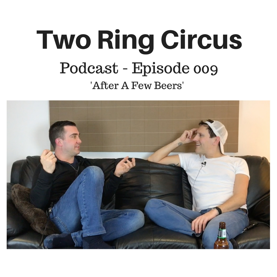 TRC Podcast - Episode 009 - 'After A Few Beers OR Dating Hairdressers'