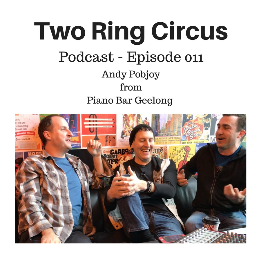 TRC Podcast - Episode 011 - 'Guest: Andy Pobjoy from Piano Bar Geelong'