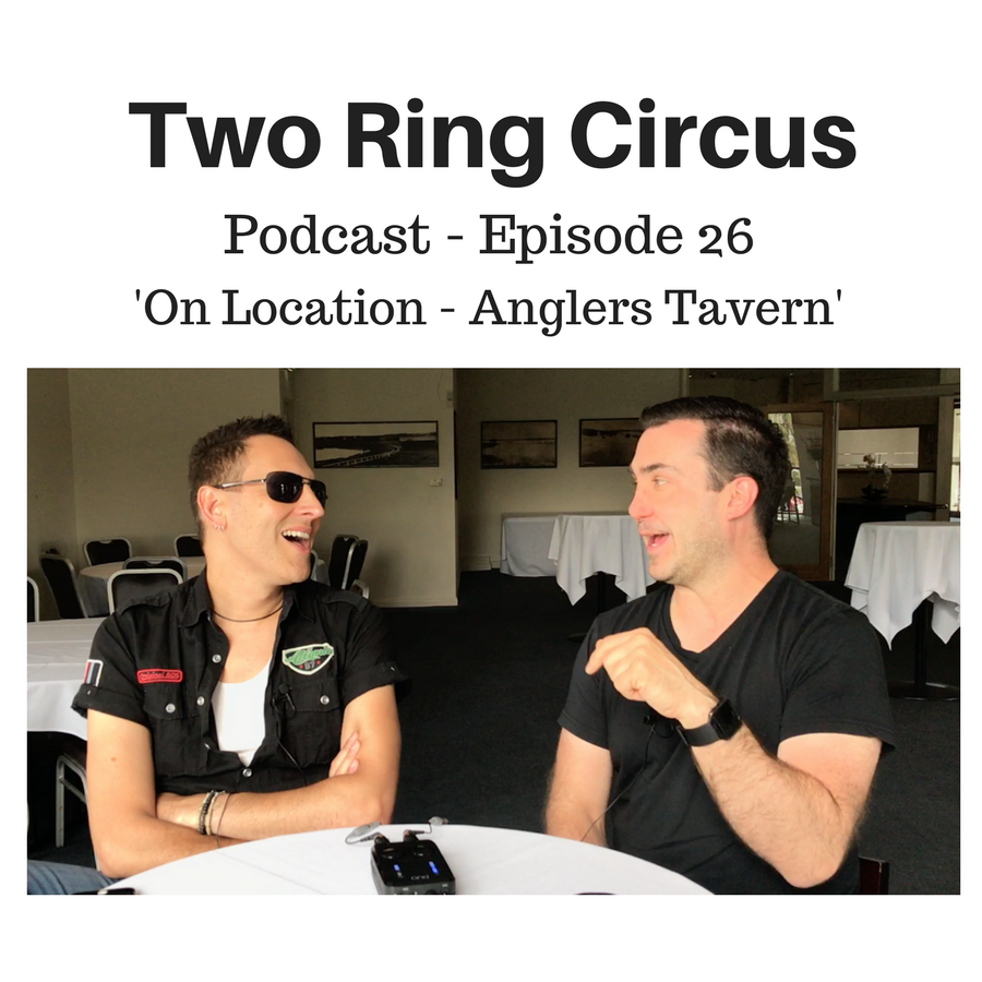 "TRC Podcast - Episode 026 - 'On Location - Anglers Tavern OR Carbivores ""R"" Us'"